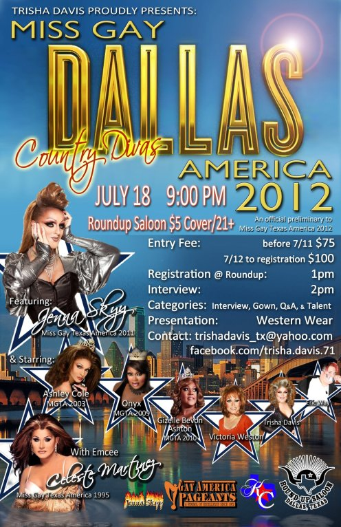 Show Ad | Round-Up Saloon (Dallas, Texas) | 7/18/2012