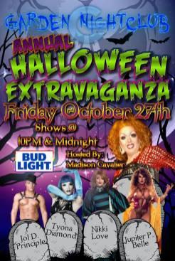 Show Ad | Garden Nightclub (Des Moines, Iowa) | 10/27/2107