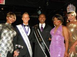 Olivia Knowles, Kevin Carlson, Nick Gray, Kiara Cartier Fontaine and Hershae Chocolatae. Circa 2011.
