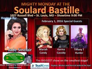Show Ad   Soulard Bastille (St. Louis, Missouri)   2/1/2016