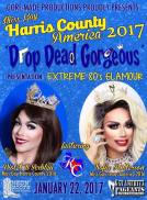 Show Ad | Miss Gay Harris County Ameria | Neon Boots (Houston, Texas) | 1/22/2017