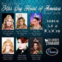 Show Ad   Miss Gay Heart of America Review Show   Boscoe's (Columbus, Ohio)   3/4/2017