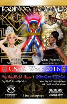 Show Ad | Miss Gay USofA Classic and Miss Gay USofA | Dallas, Texas | 5/22-5/27/2016
