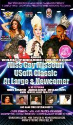 Show Ad   Miss Gay Missouri USofA Classic, At Large and Newcomer   Martha's Vineyard (Springfield, Missouri)   3/19/2016