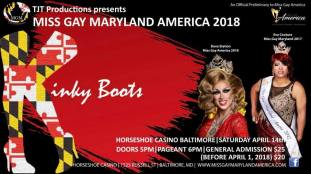 Show Ad | Miss Gay Maryland America | Horseshoe Casino Baltimore (Baltimore, Maryland) | 4/14/2018