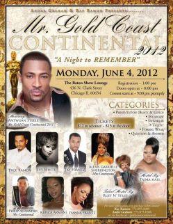 Show Ad | Mr. Gold Coast Continental | The Baton Show Lounge (Chicago, Illinois) | 6/4/2012