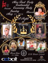 Show Ad   Miss First Lady Continental   Cobalt (Washington, D.C.)   5/15/2016