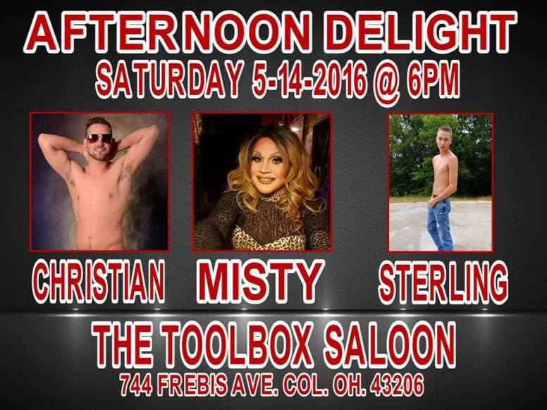 Show Ad | Toolbox Saloon (Columbus, Ohio) | 5/14/2016