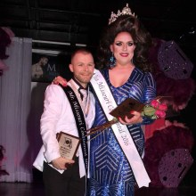 JT Masters and Jade Sinclair at the Mr. and Miss Missouri Continental 2016 Pageant