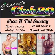 Show Ad | O'Connor's Club 20 (Columbus, Ohio) | 9/4/2016