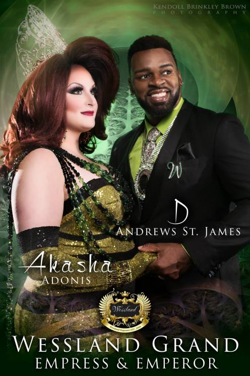Akasha Adonis and D. Andrews St. James - Photo by Kendoll Brinkley Brown Photography
