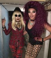Discord Addams and Trannika Rex