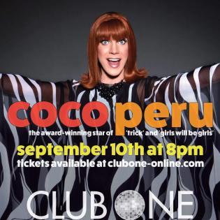 Show Ad | Coco Peru | Club One (Savannah, Georgia) | 9/10/2016