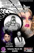 Show Ad | Garden Night Club (Des Moines, Iowa) | 3/4/2017