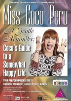 Show Ad | Miss Coco Peru | Coco's Guide to a Somewhat Happy Life | Richmond Triangle Players (Richmond, Virginia) | 3/30-3/31/2017