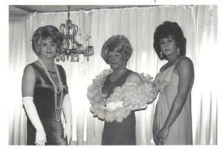 Candy James, Toni Taylor and Lena