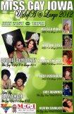 Show Ad | Miss Gay Iowa USofa at Large | Garden Nightclub (Des Moines, Iowa) | 7/21/2012