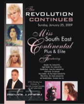 Show Ad | Miss Southeast Continental Plus & Elite | Revolution Night Club (Orlando, Florida) | 1/25/2009