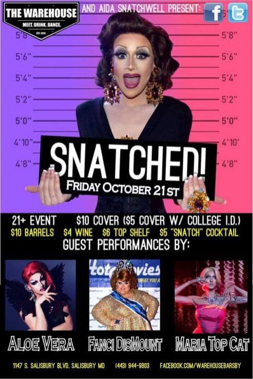 Show Ad | The Warehouse (Salisbury, Maryland) | 10/21/2016