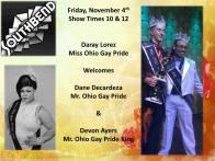 Show Ad | Southbend Tavern (Columbus, Ohio) | 11/4/2016