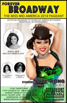 Show Ad | Miss Gay Mid America | Play Dance Bar (Nashville, Tennessee) | 3/16/2014