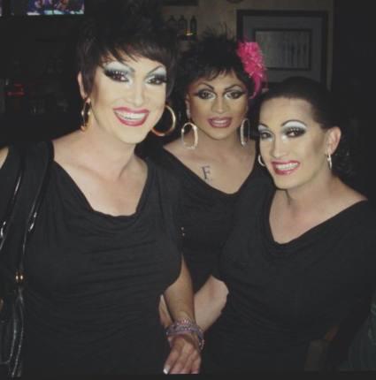 Tara Dion, Christina Ross and Kara Dion