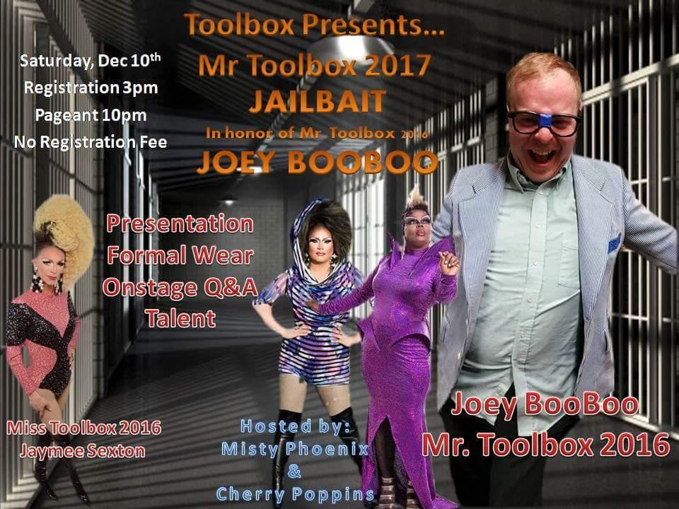 Show Ad   Mr. Toolbox   Toolbox Saloon (Columbus, Ohio)   12/10/2016