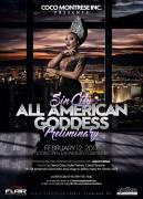 Show Ad | Sin City All American Goddes | Flair Nightclub (Las Vegas, Nevada) | 2/12/2017