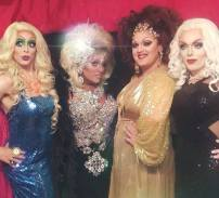 Lady J Martinez O'Neal, Erica Martinez, Samantha Echo and Ginger Breadhaus