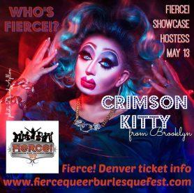 Show Ad   Fierce Queer Burlesque Festival (Pittsburgh, Pennsylvania)   5/13/2016