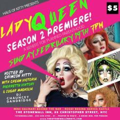 Show Ad | The Stonewall Inn (New York, New York) | 2/19/2017