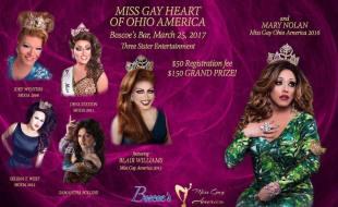Show Ad   Miss Gay Heart of Ohio America   Boscoe's (Columbus, Ohio)   3/25/2017