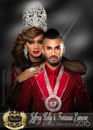 Jeffrey Kelly and Fontasia L'Amour - Photo by The Drag Photographer