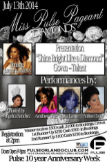 Show Ad | Miss Pulse | Pulse Nightclub (Orlando, Florida) | 7/13/2014