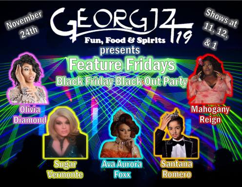 Show Ad | Georgjz419 Fun Food & Spirits (Toledo, Ohio) | 11/24/2017