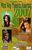 Show Ad | Miss Gay Phoenix America | Charlie's (Phoenix, Arizona) | 4/11/2007