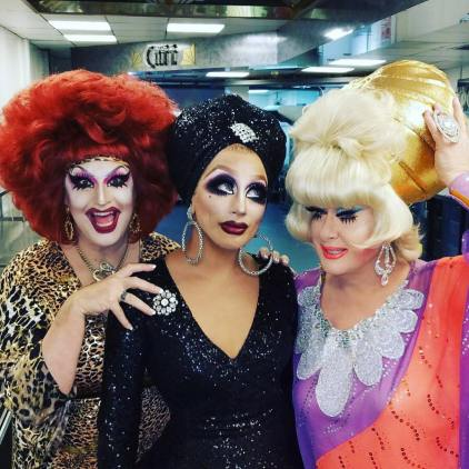 Jackie Beat, Bianca Del Rio and Lady Bunny