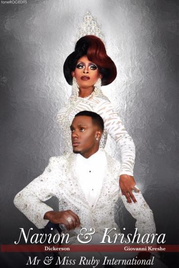 Navion Dickerson and Krishara Giovanni Kreshe - Photo by Tone Roc Edits