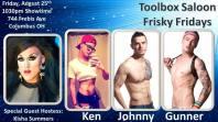 Show Ad | Toolbox Saloon (Columbus, Ohio) | 8/25/2017