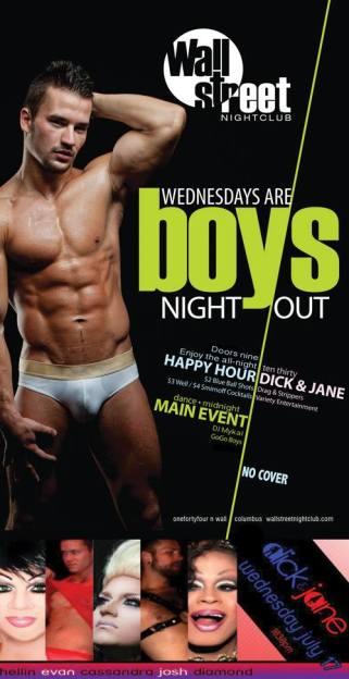 Show Ad | Wall Street Nightclub (Columbus, Ohio) | 7/17/2013