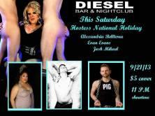 Show Ad | Diesel Bar & Nightclub (Springfield, Ohio) | 9/21/2013