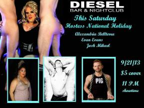 Show Ad | Diesel Bar & Nightclub (Springfield, Ohio) | 9/21/2013