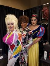 Samantha Rollins, Anisa Love and Nina West