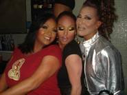 Maya Douglas, Erica Andrews and Sweet Savage at Heat Nightclub