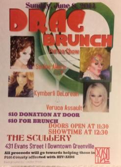 Show Ad | The Scullery (Greenville, North Carolina) | 6/8/2014