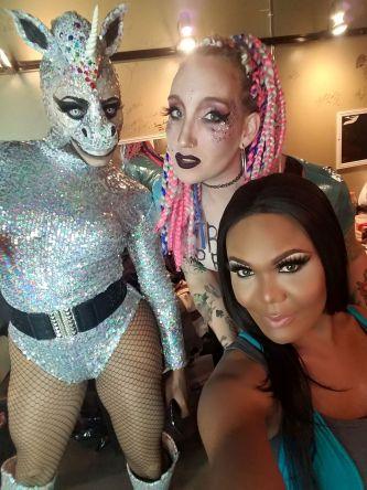 Bianna Reyonce, Roxy Nikole and Bianca Debonair