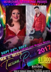 Show Ad | Mr. and Miss Tucson Pride | The Maverick (Tucson, Arizona) | 9/24/2017