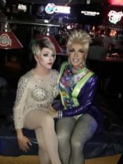 Mari Jane and Valerie Taylor