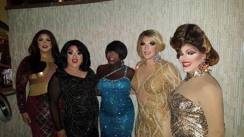Tasha Salad, National Holiday, Cherry Poppins, Valerie Taylor and Valerie Valentino