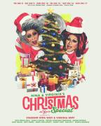 Show Ad | Nina & Virginia's Christmas Special | Axis Night Club (Columbus, Ohio) | 12/8-12/17/2017